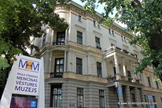Riga medical museum