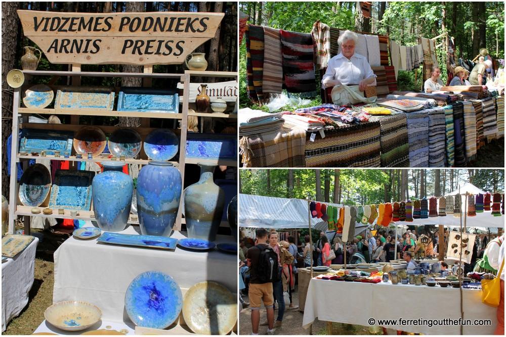 Riga annual craft fair