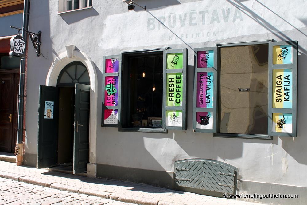rocket bean old riga cafe