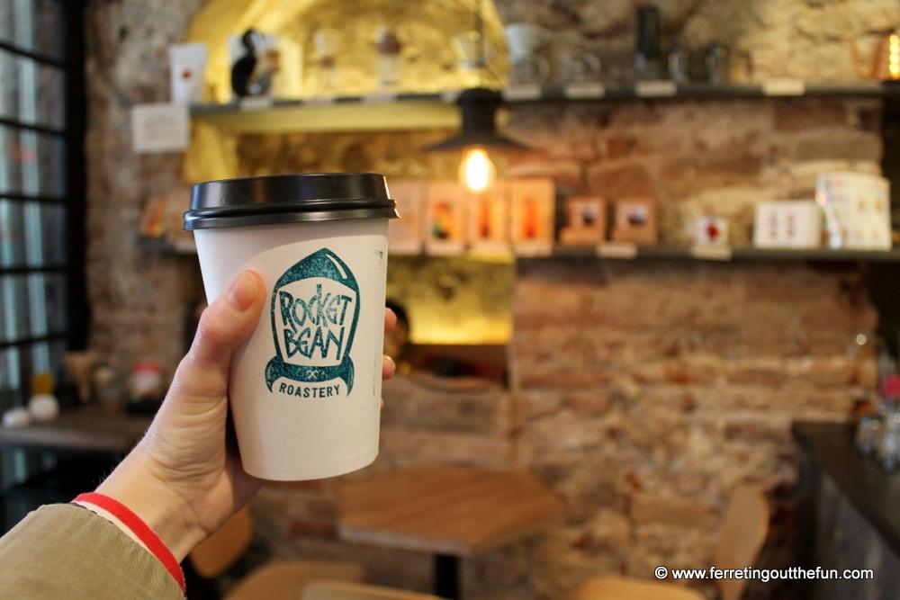 rocket bean coffee riga
