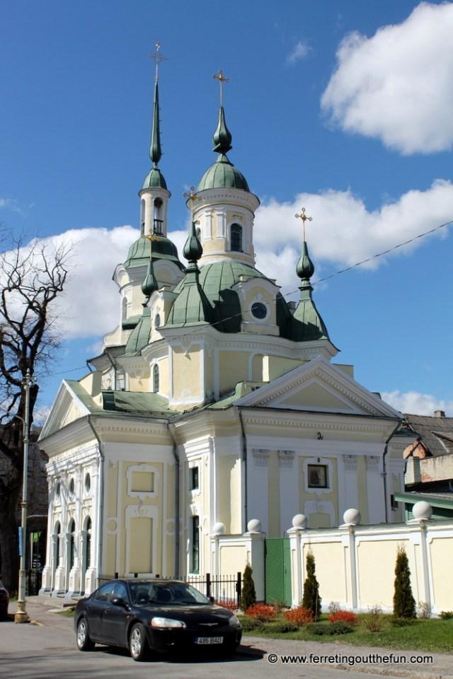 An Orthodox Church in Parnu, Estonia