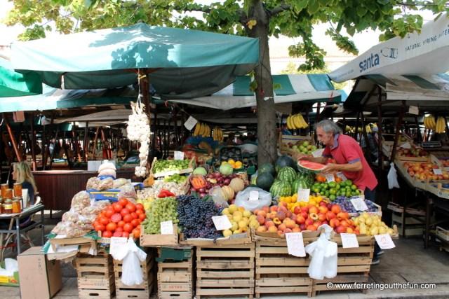 Zadar farmers market