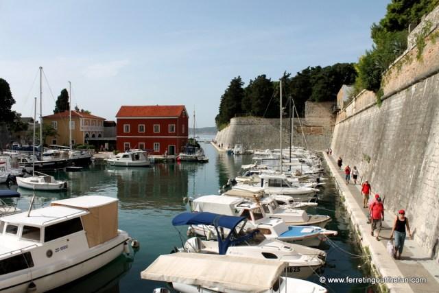 Zadar city walls