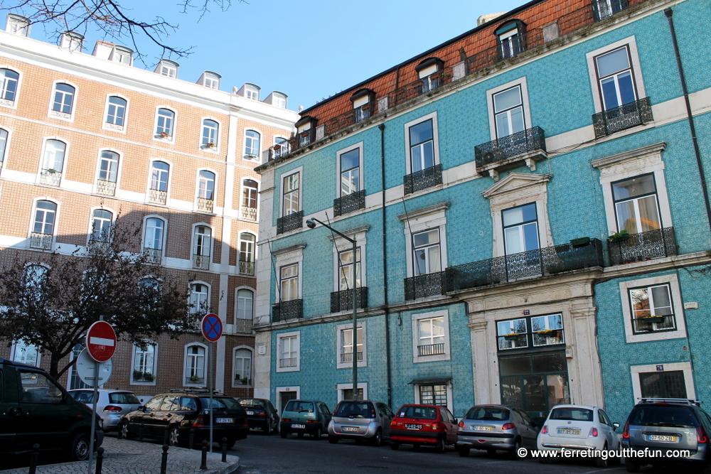 tile facades lisbon