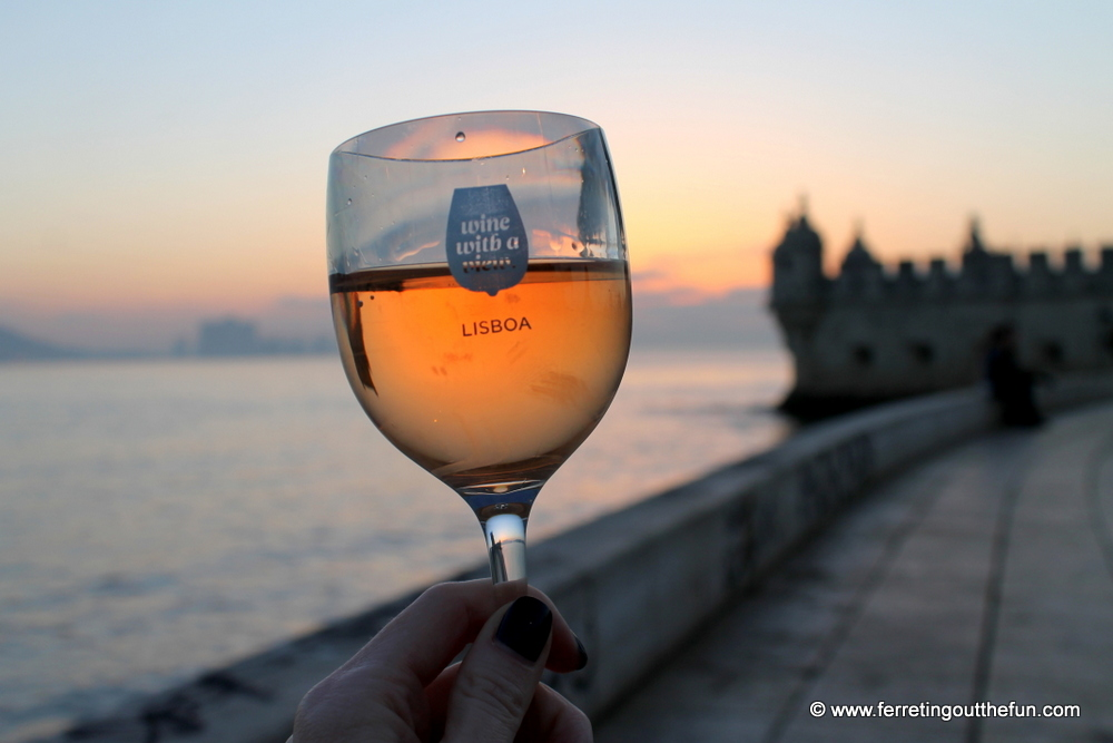 Wine with a View Belem Tower