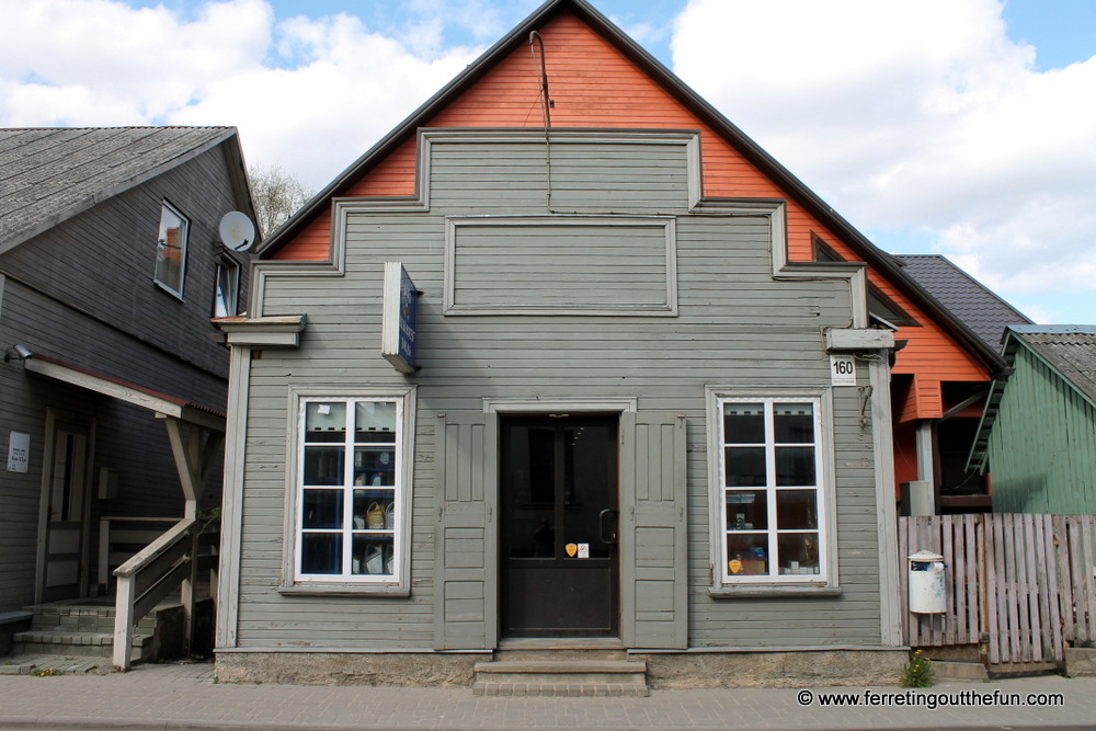 Jekabpils wooden house