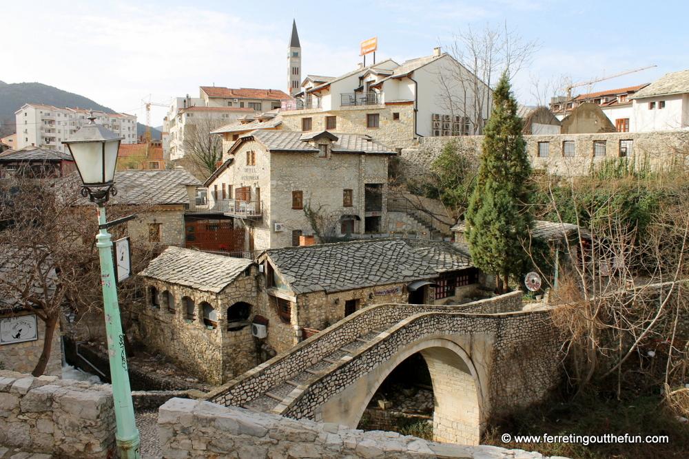 Crooked bridge Mostar
