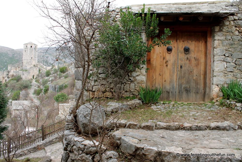 Bosnian doorway