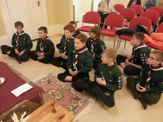 On Wednesday this week, Mafeking Scouts visited the Khedrubje Kadampa Buddhist C...