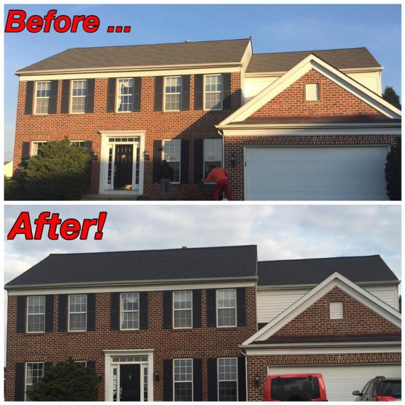 new roof by Ferris Home Improvements Delaware