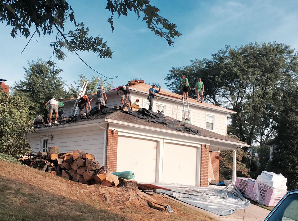 roof installation by Ferris Home Improvements Delaware