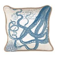 Michel Design Works Square Pillows - Octopus Collection