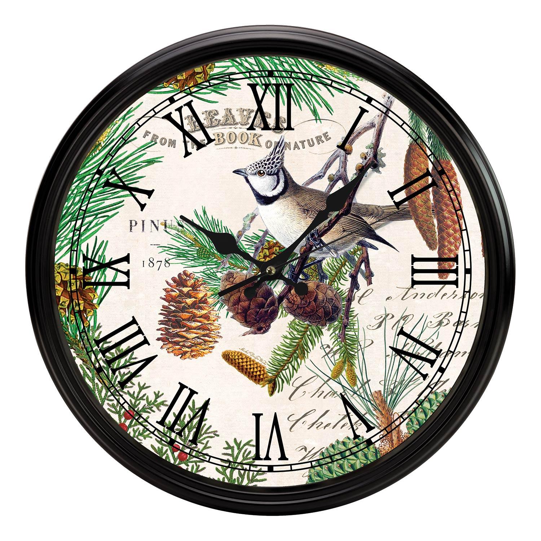 kitchen clocks large pantry michel design works clock spruce