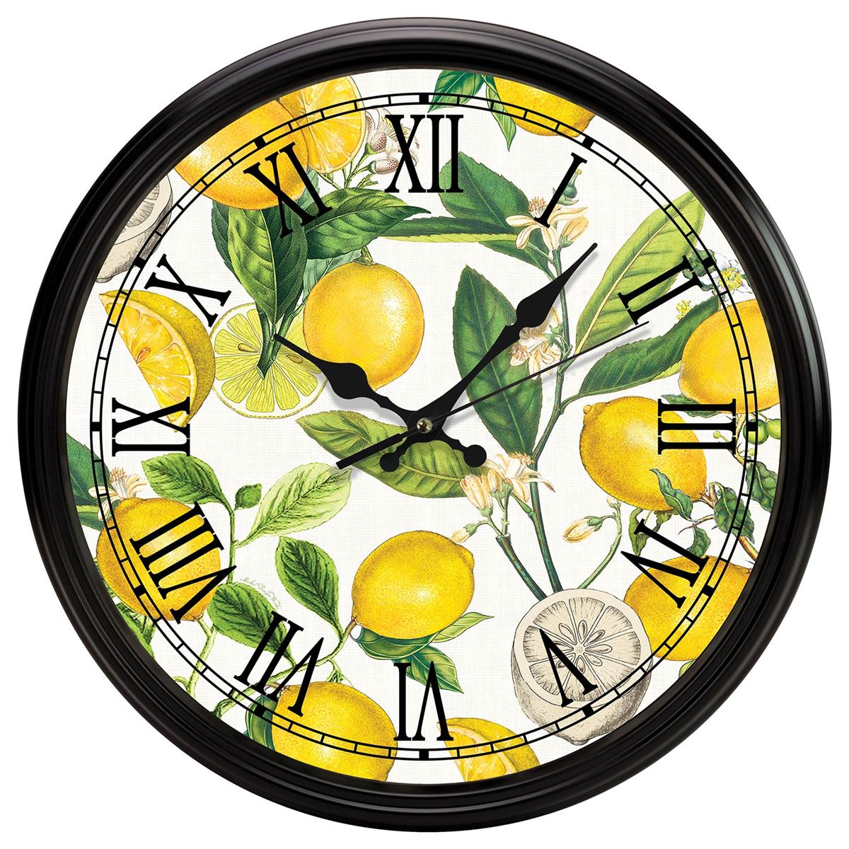 kitchen clocks restoring cabinets michel design works clock lemon basil
