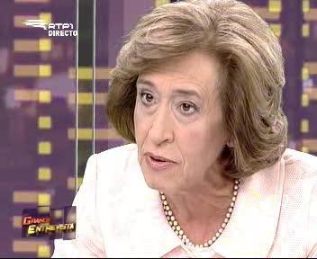 Grande Entrevista - 2009-08-20 - Manuela Ferreira Leite