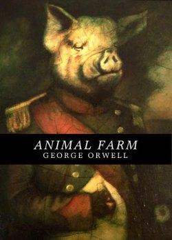 Animal Farm (Triunfo dos Porcos) de George Orwell