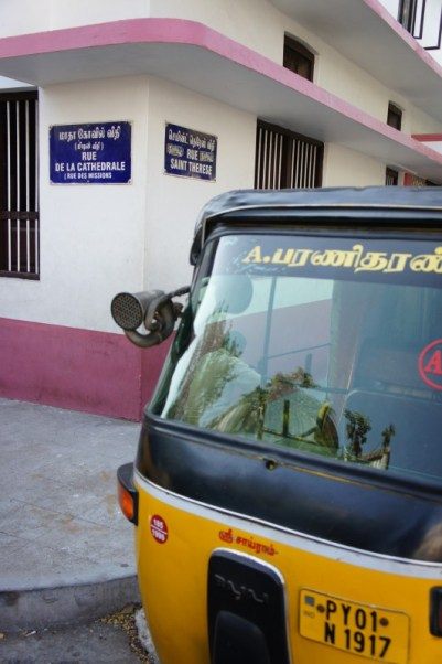 Nein, nicht Paris, auch nicht Marseille, sondern Pondicherry in Indien. Sogar die Croissants schmecken wie in Frankreich