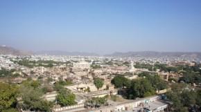 Blick über die Stadt, insb. den City-Palast
