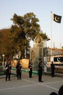 Während der Border-Ceremony