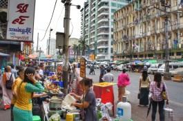 Das öffentliche Leben findet auf der Straße statt