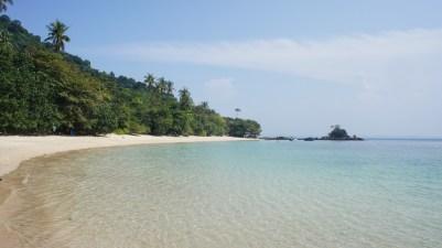 Eigentlich stehe ich ja nicht so auf Strand und Meer, doch auf Pulau Kapas ist es wirklich paradiesisch