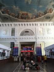Abfahrt in Wolgograd –und weiter gehts mit dem Zug nach Mineralnyje Wody.