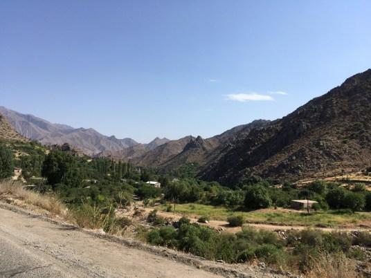 Etwa 10 Kilometer vor der iranischen Grenze