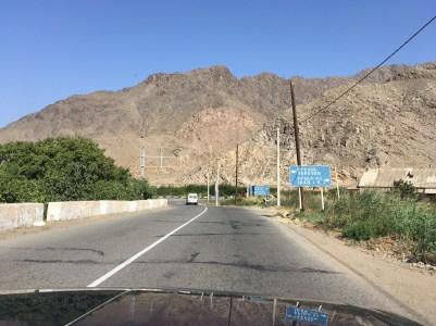 Noch 400 Meter bis zum iranischen Grenzzaun