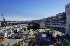 Gare d'Alger, einer der beiden wichtigen Bahnhöfe Algiers