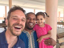 Walid und Töchterchen Marijam
