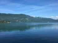 Unterwegs zwischen Grenoble und Geneve am Lac du Bourget