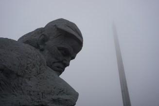 Das bekannteste Wahrzeichen von Brest ist die Gedenkstätte zur Verteidigung der Brester Festung im Zweiten Weltkrieg.