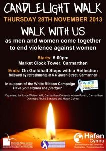 CandlelightWalk Flyer Eng
