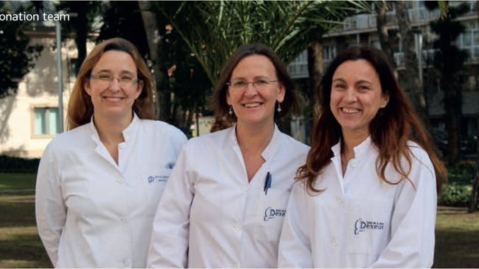 Women's Dexeus Egg Donation Team