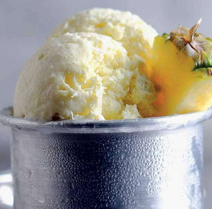 Coconut Pineapple Sorbet