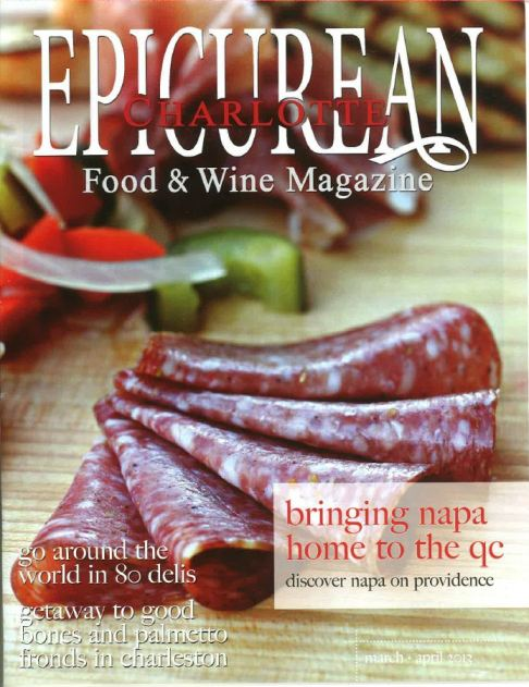 Fervent Foodie - Epicurean Charlotte cover