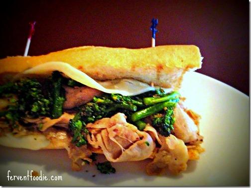 mama ricottas - pork and broccolini