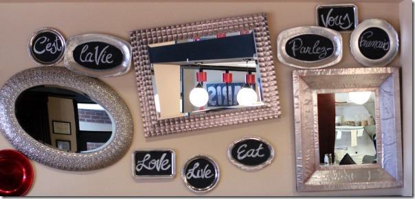 Passerelle Bistro - mirrors