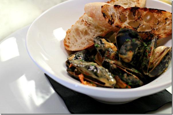Passerelle Bistro - mussels