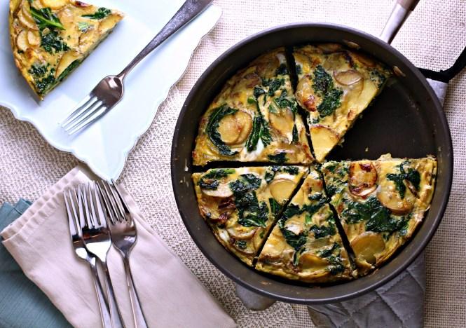 potato pie {gluten free vegetarian breakfast recipe via FerventFoodie.com}