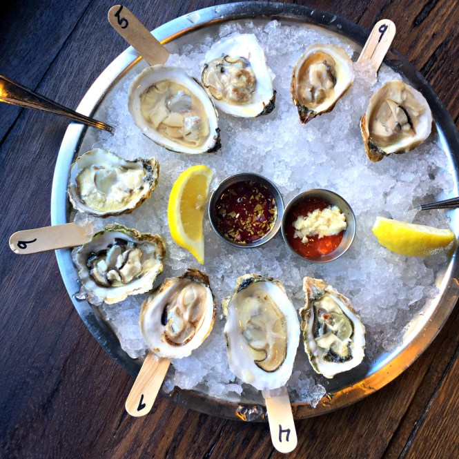 Oysters at Sea Level