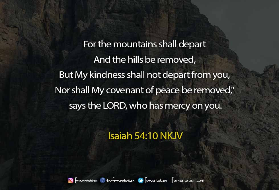 The Light Daily Devotional – Mountains Shall Depart