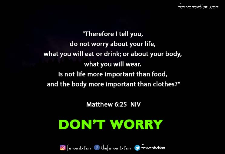 The Light Daily Devotional –  Don't worry about anything