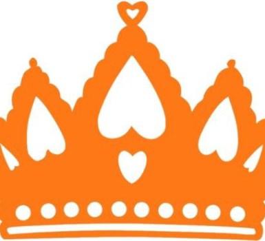 De winnaars van de grote oranje quiz van koningsdag.