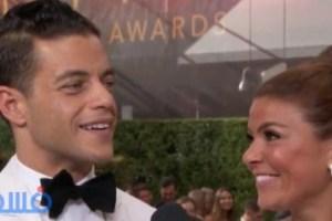 """فوز  رامى مالك بأفضل ممثل فى الـ""""Emmy Awards""""؟"""