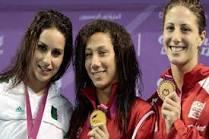 مصر تستقبل بطلة العالم  في السباحة فريدة عثمان