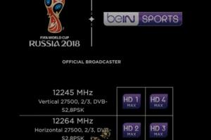 تردد قناة bein MAX علي النايل سات بي ان ماكس سهيل سات ومباريات كأس العالم 2018