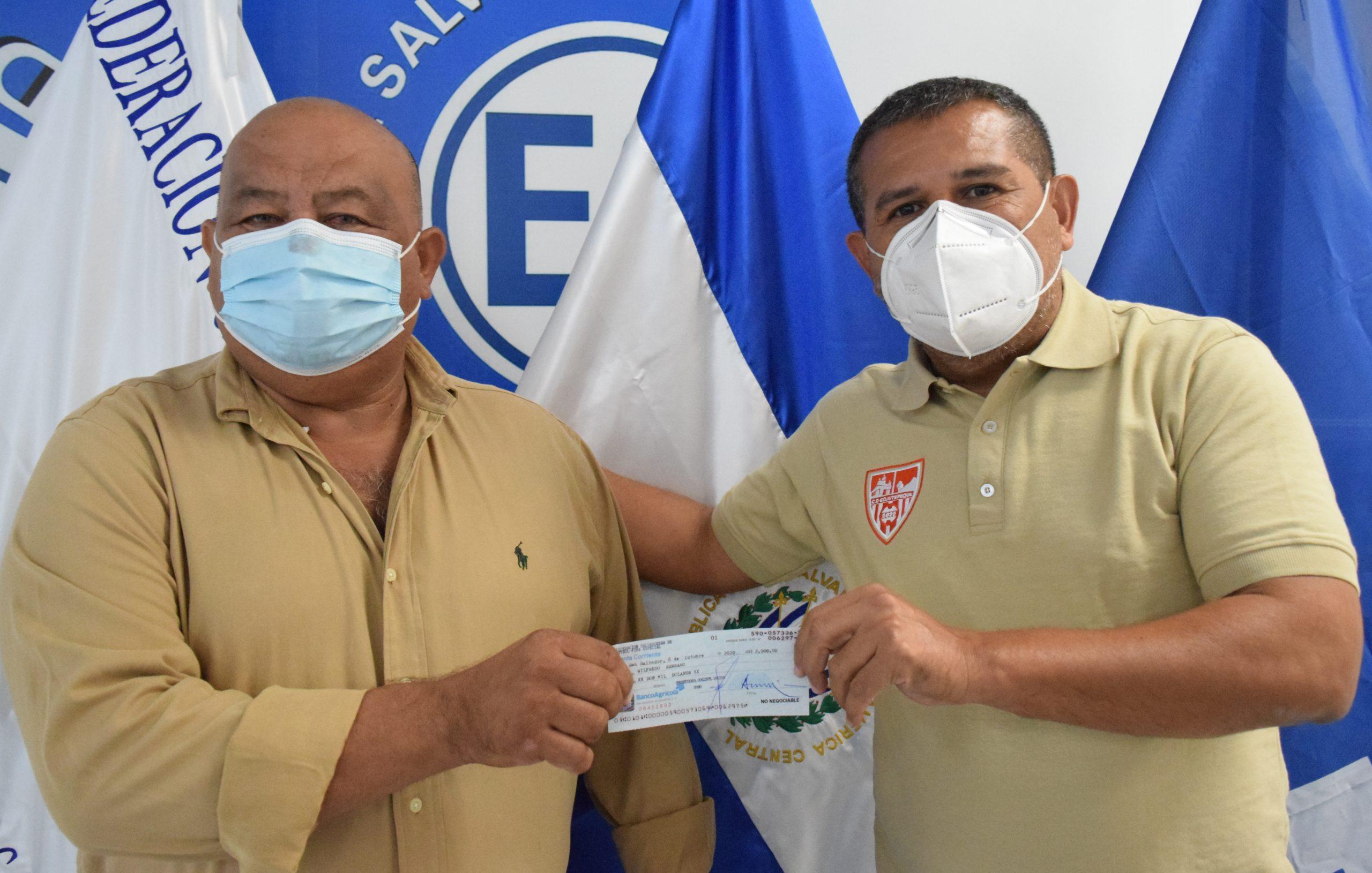 Señor Wilfredo Serrano de Asociación Deportiva Juventud Cara Sucia, Ahuachapán