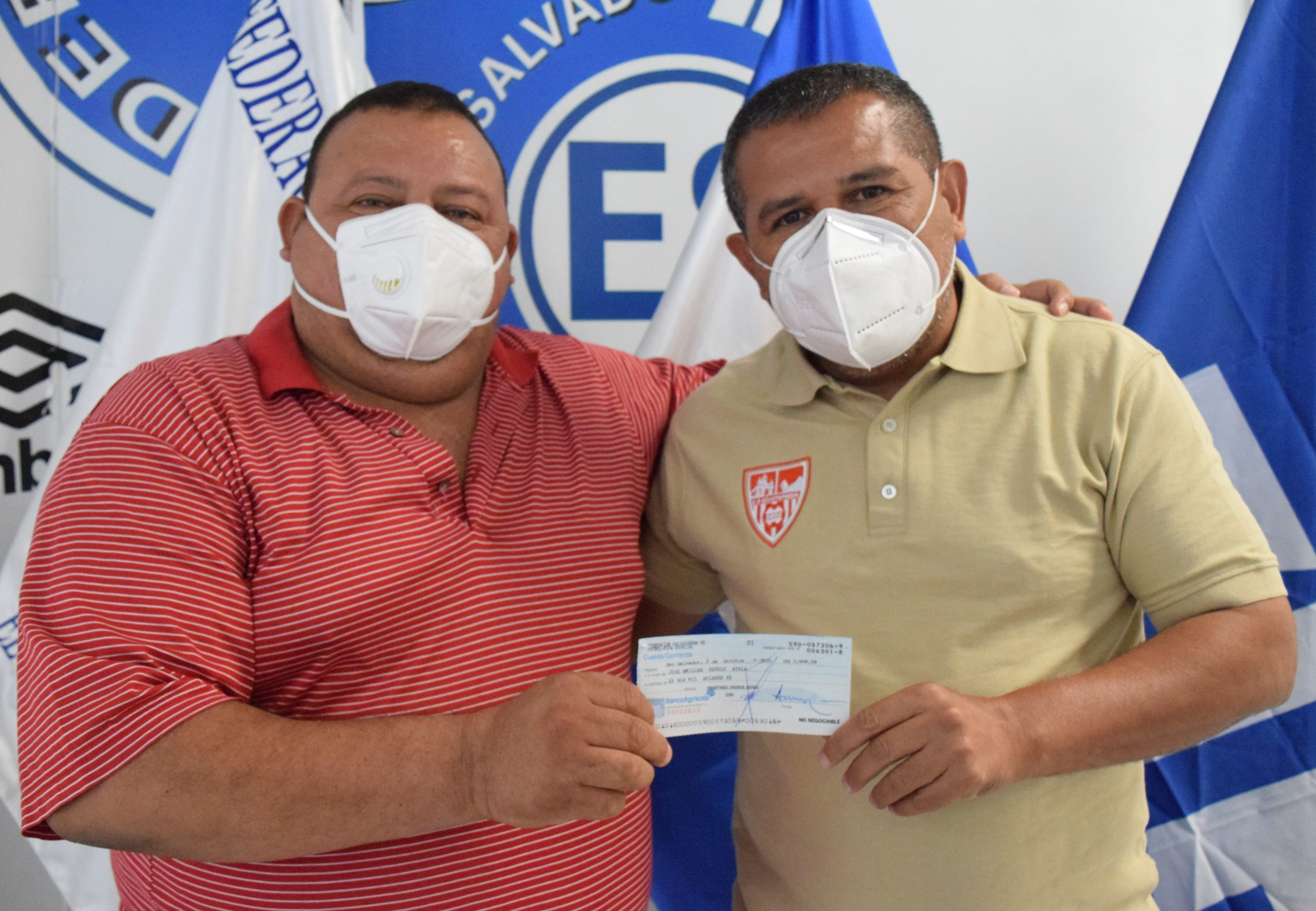 Presidente Amílcar Revelo de Club Deportivo Mar y Plata de Puerto el Triunfo, Usulután