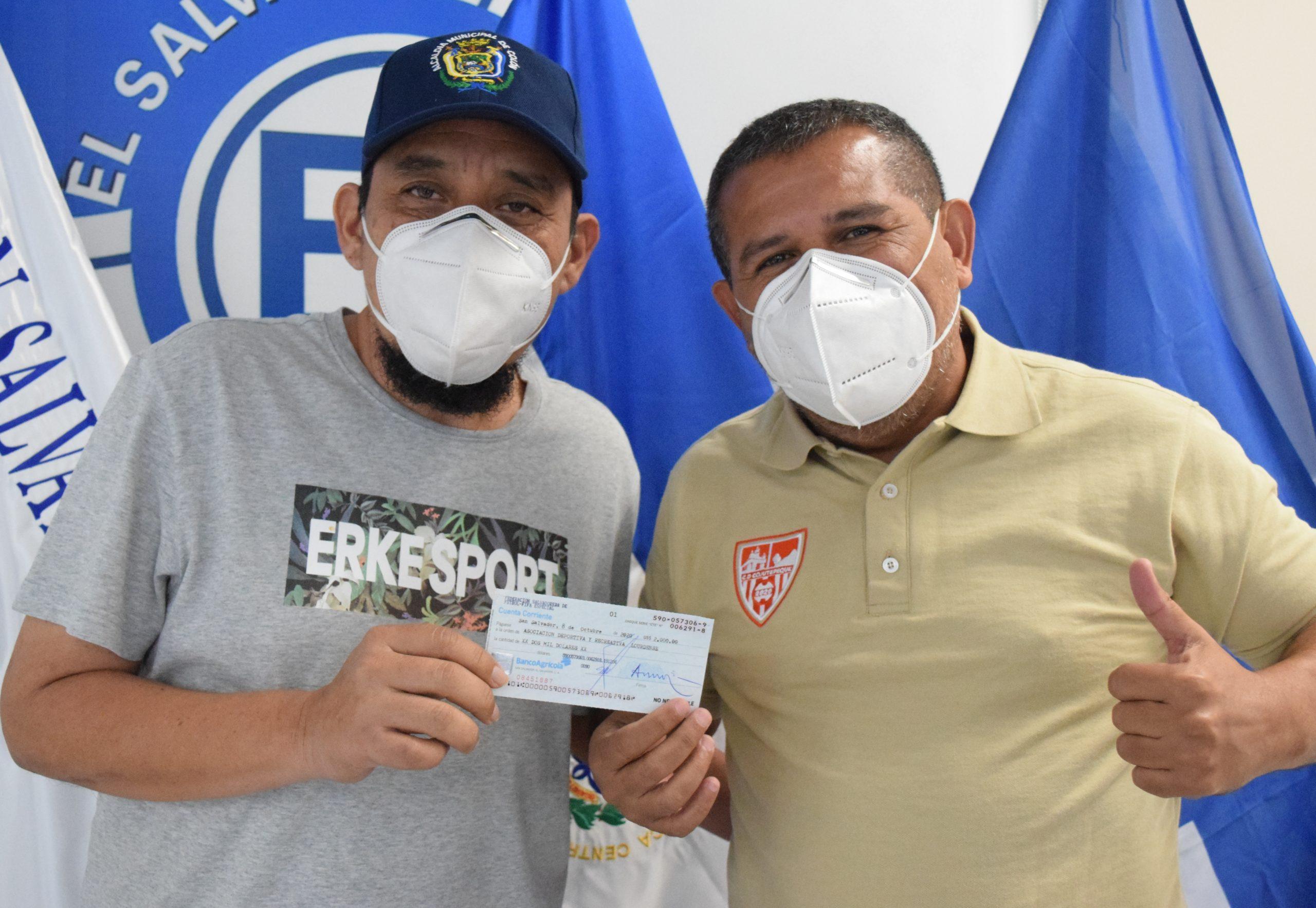 Señor Oswaldo Sánchez de Asociación Deportiva y Recreativa Lourdense de Lourdes Colon, La Libertad